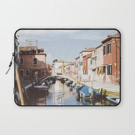 Sunny afternoon in Burano Laptop Sleeve