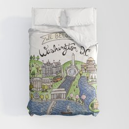 Washington DC Comforters
