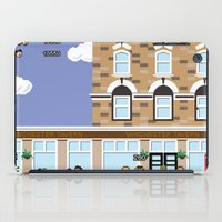 shaun of the dead iPad Cases featuring 8bit Shaun Of The Dead by TheRandomFactory