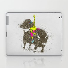 Ride a buffalo Laptop & iPad Skin
