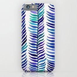 Indigo Seaweed iPhone Case