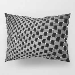 Eye Play in Black and Gray Pillow Sham