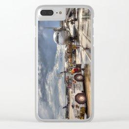 Heathrow Airport London Clear iPhone Case