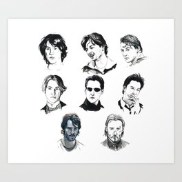 A Hero With A Thousand Faces Art Print