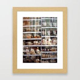 WE PLOT - SHOP WINDOW IN LISBON Framed Art Print