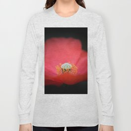 Red flower India Long Sleeve T-shirt