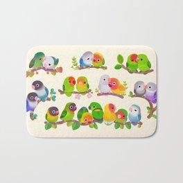 Lovebird Bath Mat
