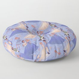 Dilly Dilly, You Shall Be Queen Floor Pillow