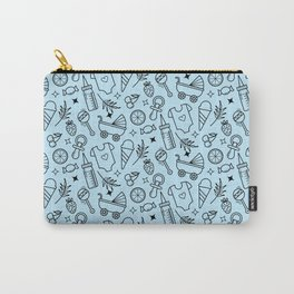 Pacify Me Blue Carry-All Pouch