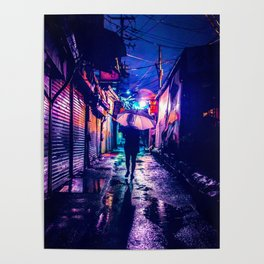 Colorful Seoul Poster