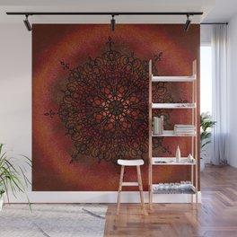 Radical Red (Mandala) Wall Mural