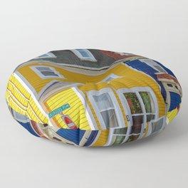 Jellybean Row Floor Pillow