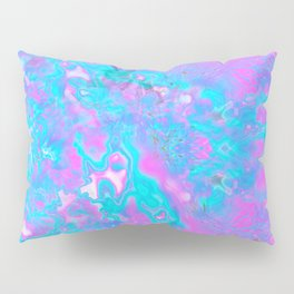 Pastel Hologram Pillow Sham