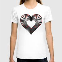 valentines T-shirts featuring Valentines - Light My Fire by Khana's Web