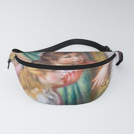 Pierre Auguste Renoir - Young Girls at the Piano Fanny Pack