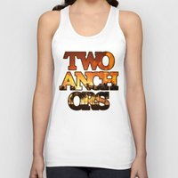 anchors Tank Tops featuring Sunset Anchors by Two Anchors