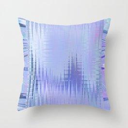Glytch 05 Throw Pillow