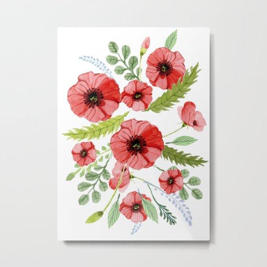 Flowers 110 Metal Print