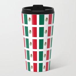 Flag of mexico 2- mexico,mexico city,mexicano,mexicana,latine,peso,spain,Guadalajara,Monterrey Travel Mug