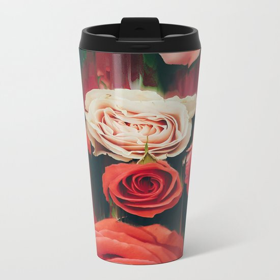 Beauty is Fleeting Metal Travel Mug