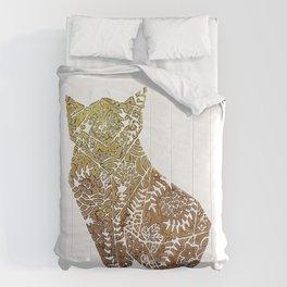 Golden Fox origami  Comforters