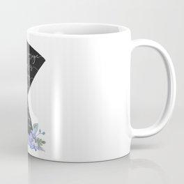Nefertiti Her courage was her Crown Coffee Mug