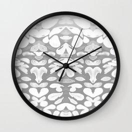 Winter has Come, Silver Romantic Nights Wall Clock