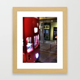 Miniature Photography - Tram Framed Art Print