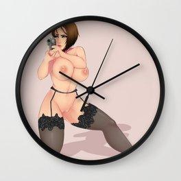 Jill Valentine - Resident Evil Wall Clock