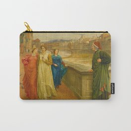 Henry Holiday - Dante And Beatrice Carry-All Pouch