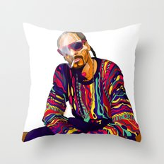 Smoking weed evry day Throw Pillow