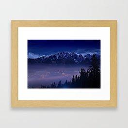 The Mountain's Dream Framed Art Print