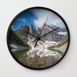 Lake Agnes - Fine Art Landscape Photograph Wall Clock