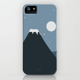 Cat Landscape 44 iPhone Case