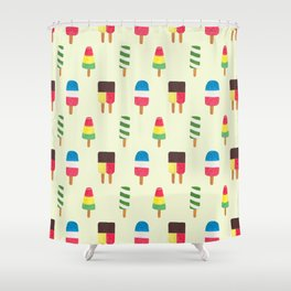 POPSICLES Shower Curtain