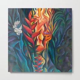 Fire Goddess Metal Print