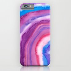 AGATE Inspired Watercolor Abstract 09 Slim Case iPhone 6