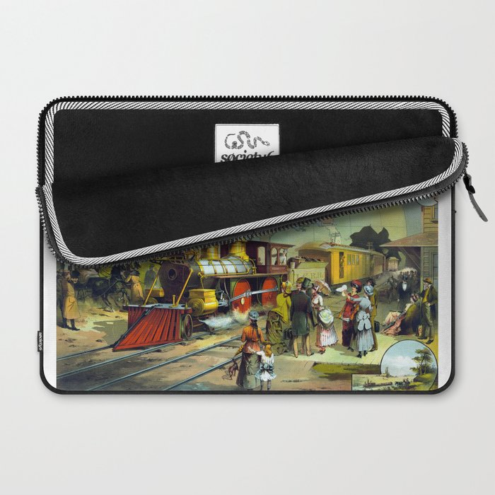 Transcontinental Railroad Laptop Sleeve
