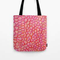 scales Tote Bags featuring scales by Matthias Hennig