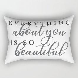About You Rectangular Pillow
