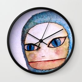 Cat boy Wall Clock