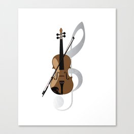 Violin Musical Instrument Canvas Print