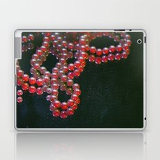 Colorful Pearls on a dirty mirror. Laptop & iPad Skin