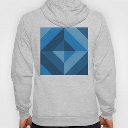 Pattern: Blue square Hoody