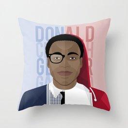 Donald Glover x Childish Gambino Throw Pillow