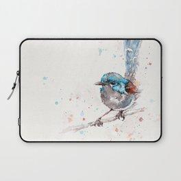 Mischief In The Making (Variegated Fairy Wren) Laptop Sleeve