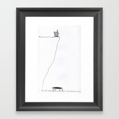 THE SPRING IN YOUR STEP Framed Art Print