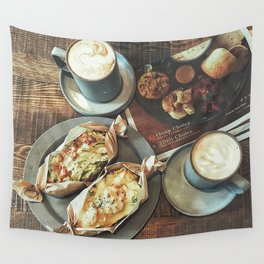Brand new day Wall Tapestry