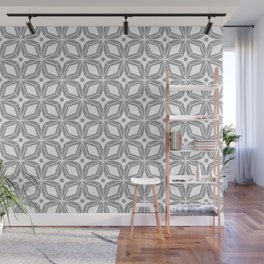Starburst - Grey Wall Mural