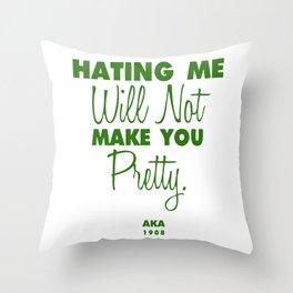 AKA Pretty Throw Pillow